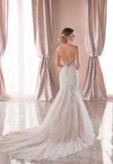 Spaghetti Strap Lace Mermaid Wedding Dress by Stella York - Image 2