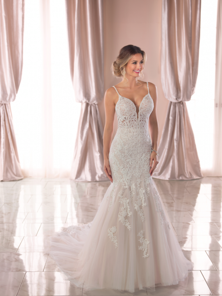 Strap Mermaid Wedding Dresses