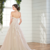 Lace ballgown with off the shoulder straps by Essense of Australia - Image 2