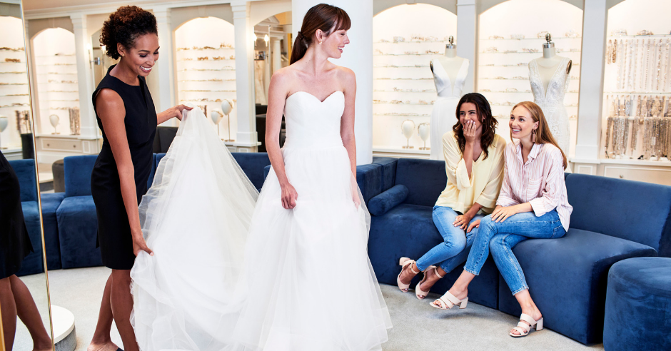 Our Consultants Share Their Top Wedding Dress Shopping Tips