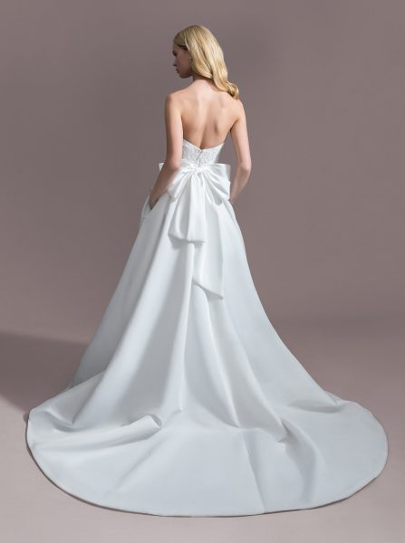 Strapless Sweetheart Ball Gown Wedding Dress by Allison Webb - Image 2