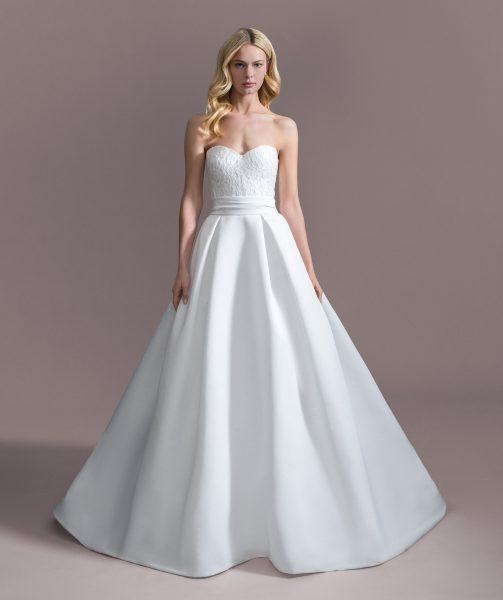 Strapless Sweetheart Ball Gown Wedding Dress