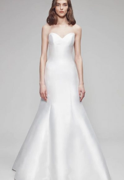 Strapless Fit And Flare Wedding Dress by Anne Barge