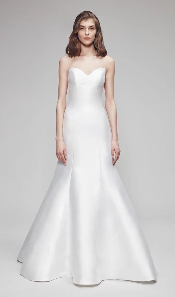 Strapless Fit And Flare Wedding Dress Kleinfeld Bridal