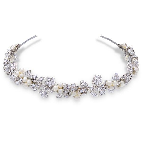 Swarovski Pearl Headband by Ellen Hunter - Image 1
