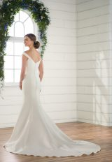 Off The Shoulder Mikado Gown by Essense of Australia - Image 2
