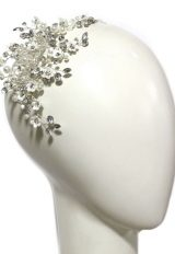 Floral And Pearl Headpiece by Ti Adoro - Image 1