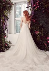 Strapless Tulle Ballgown Wedding Dress With Notched Bodice by Alyne by Rita Vinieris - Image 2