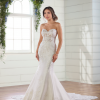 Strapless Sweetheart Fit And Flare Wedding Dress by Essense of Australia - Image 1