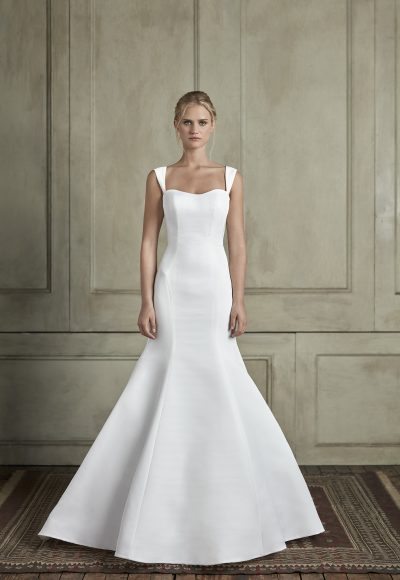 Sleeveless Sweetheat Fit And Flare Wedding Dress by Sareh Nouri