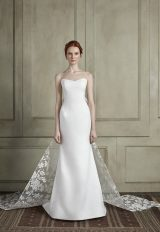 Strapless Sweetheart A-Line Wedding Dress With Back Bow by Sareh Nouri - Image 1