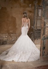 Sweetheart Strapless Mermaid Lace Wedding Dress by Tony Ward - Image 2