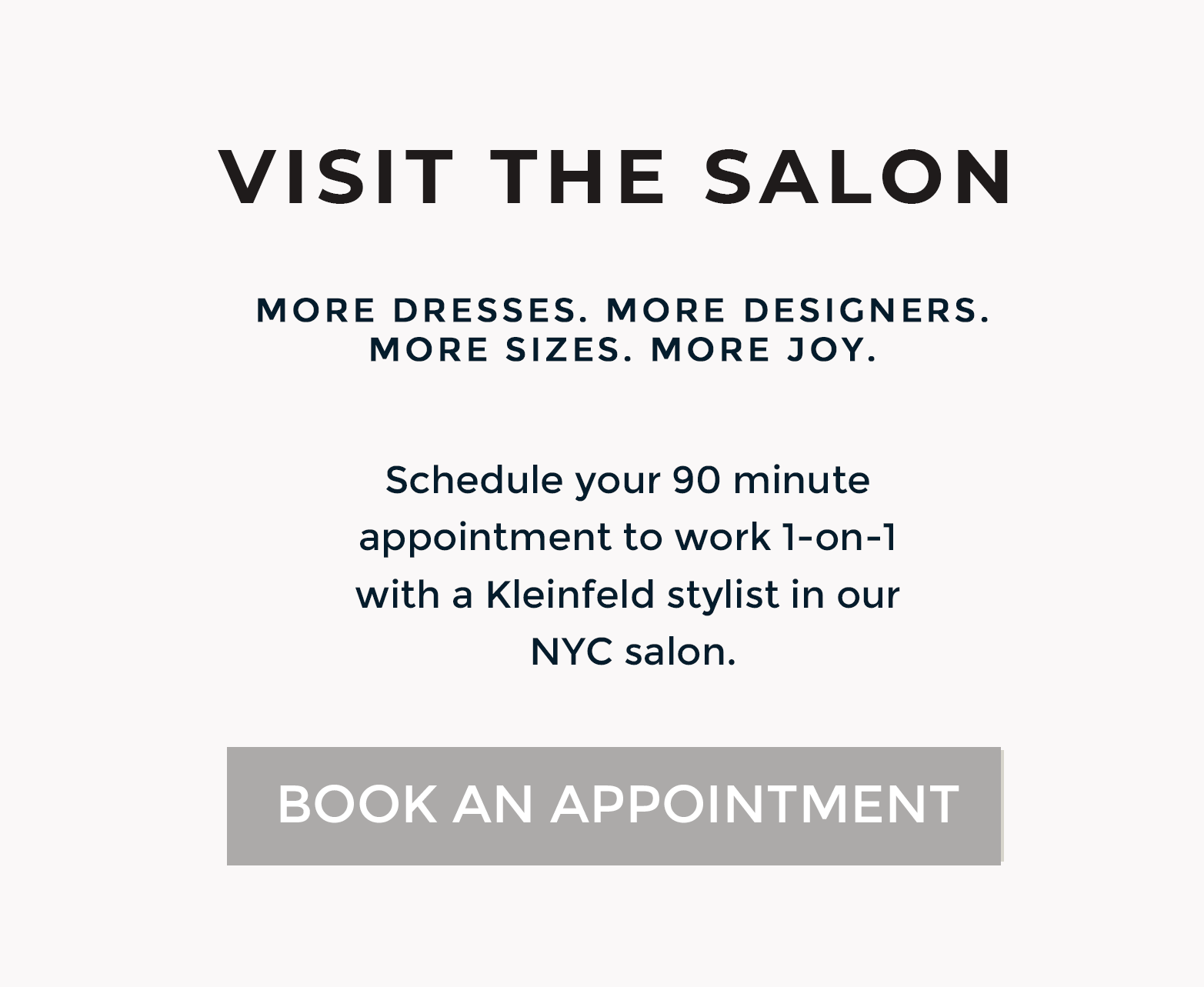 Visit the Kleinfeld Salon