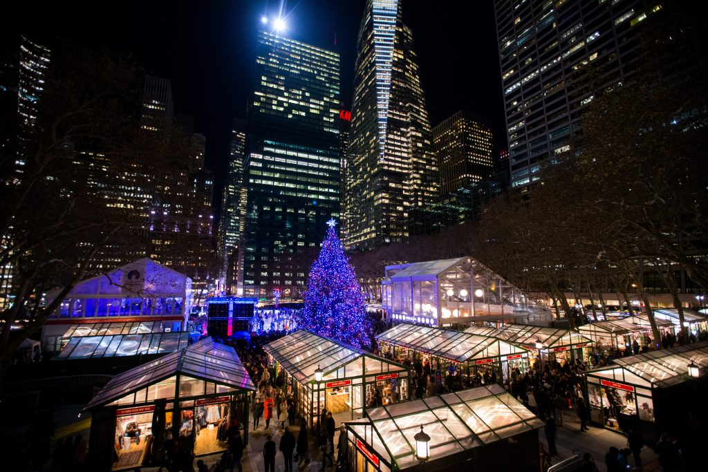 Time Out Bryant Park Winter Village