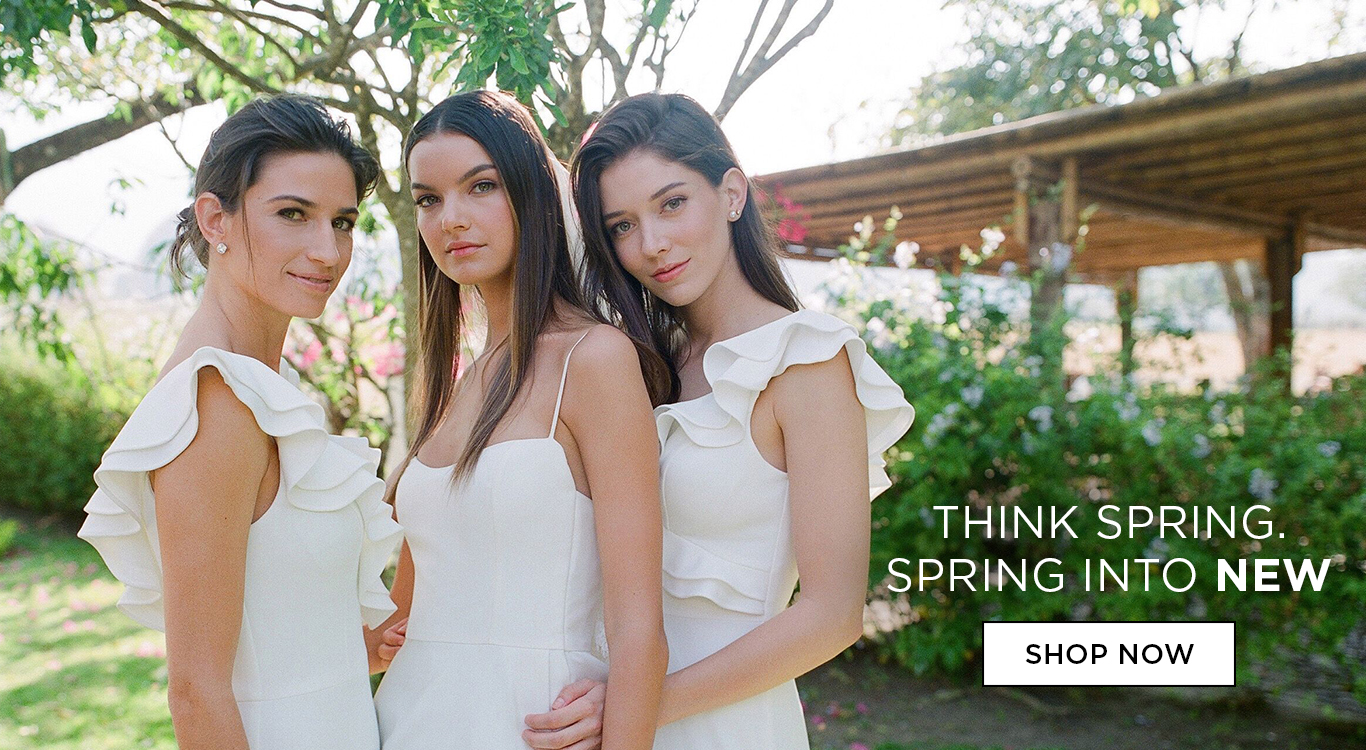 Think Spring. Spring into NEW