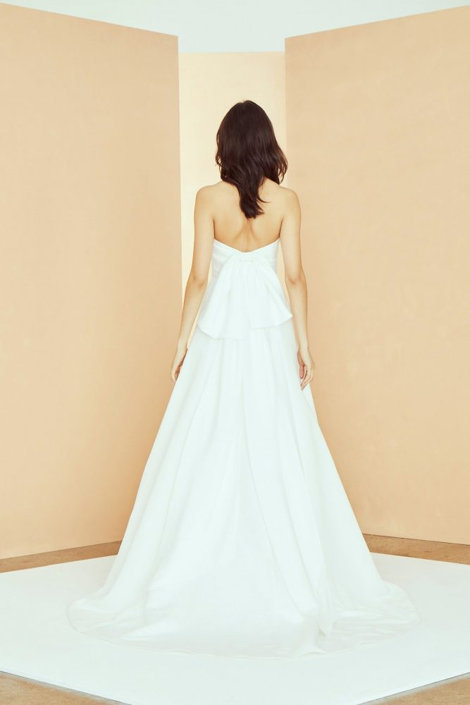 Strapless Sweetheart Neckline A-line Wedding Dress by Nouvelle Amsale - Image 2