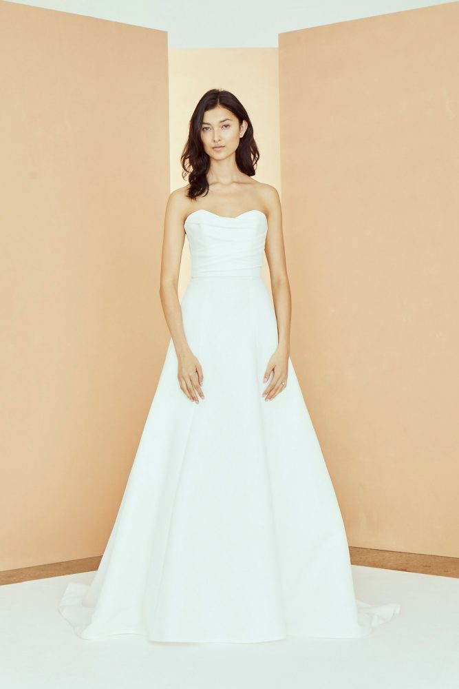 Strapless Sweetheart Neckline A-line Wedding Dress by Nouvelle Amsale - Image 1