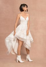 Two Piece Spagheetti Strap A-line Lace Wedding Dress by BLUSH by Hayley Paige - Image 2
