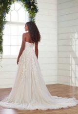 Strapless Sweetheart Neckline A-line Wedding Dress by Essense of Australia - Image 2