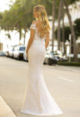 Sheath Lace Wedidng Dress by Randy Fenoli - Image 2
