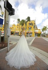 Sleeveless Sparkle Tulle Ball Gown Wedding Dress by Randy Fenoli - Image 2