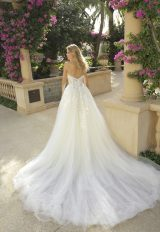 Strapless Tulle Ball Gown Wedding Dress by Randy Fenoli - Image 2