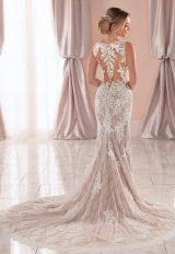 Sleeveless V-neck Lace Wedding Dress by Stella York - Image 2