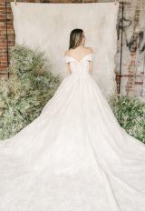 Off The Shoulder Sweetheart Neckline Lace Ball Gown Wedding Dress by Demetrios for Kleinfeld - Image 2