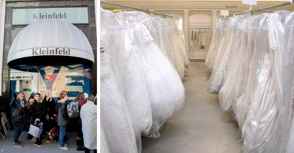A Look Back At Our Winter Sample Sale Kleinfeld Bridal