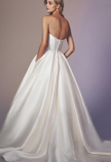 Strapless Sweetheart Neckline Ball Gown Wedding Dress by Anne Barge - Image 2