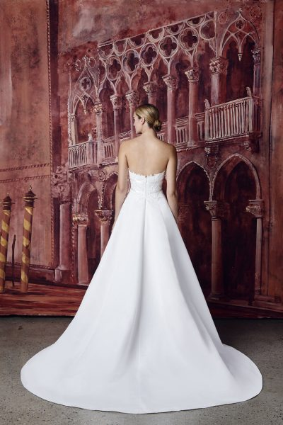 Strapless Ball Gown Wedding Dress by Isabelle Armstrong - Image 2