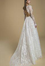 Long Sleeve V-neck A-line Wedding Dress by Love by Pnina Tornai - Image 2