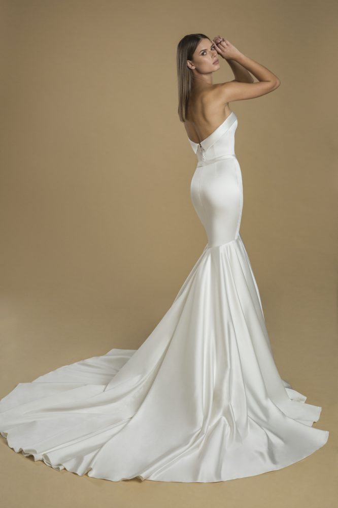 Strapless Mermaid Wedding Dress by Love by Pnina Tornai - Image 2
