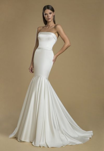 Strapless Mermaid Wedding Dress by Love by Pnina Tornai