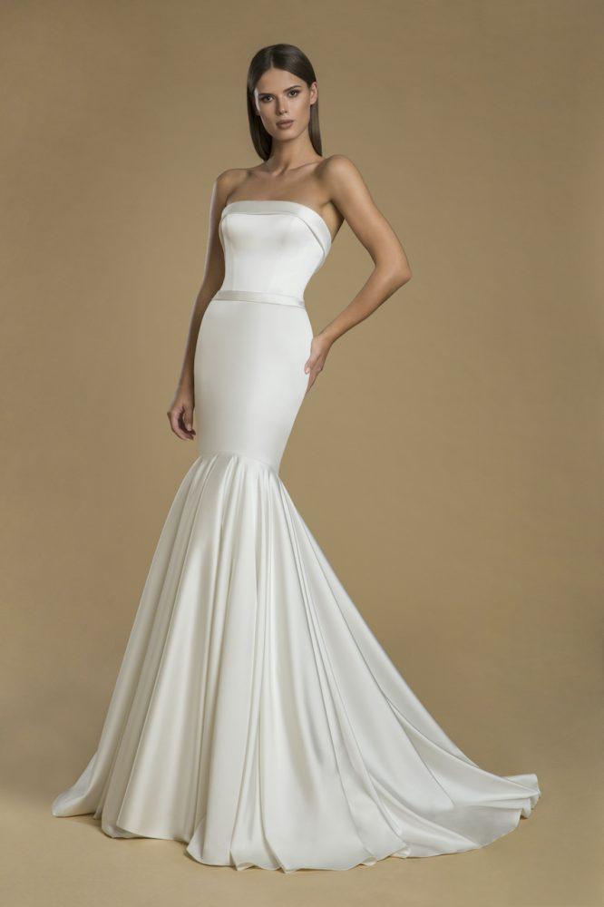 Strapless Mermaid Wedding Dress by Love by Pnina Tornai - Image 1