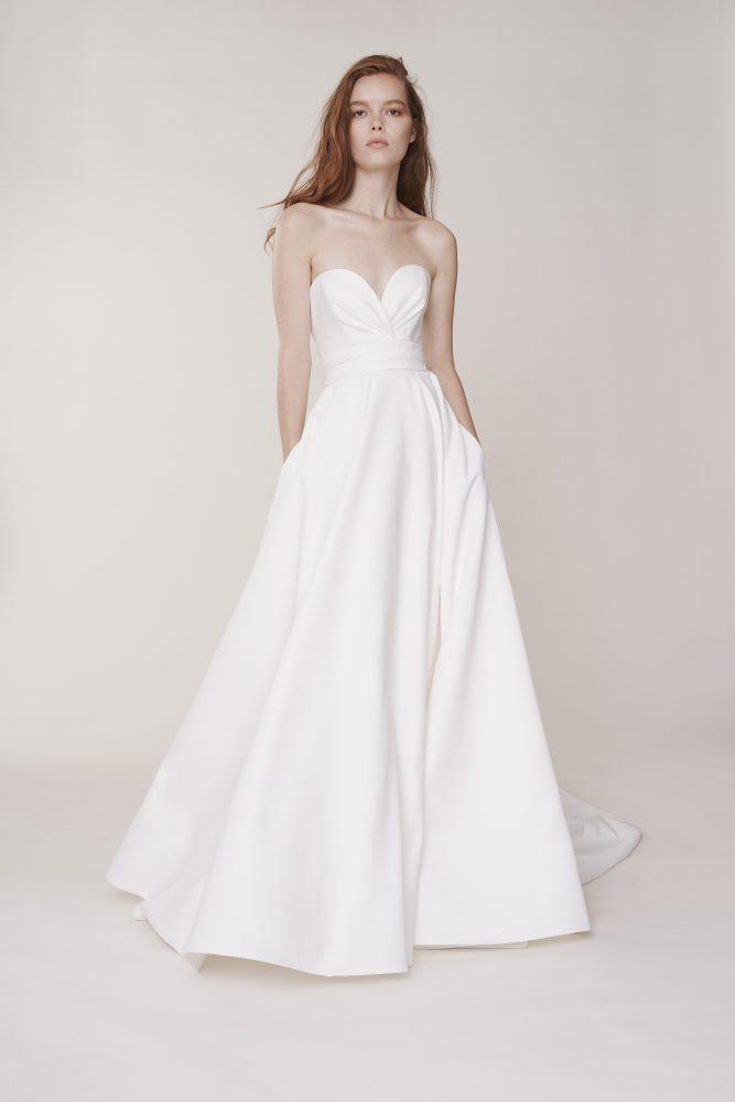 Strapless Sweetheart Ball Gown Wedding Dress by Alyne by Rita Vinieris - Image 1