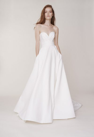 Strapless Sweetheart Ball Gown Wedding Dress by Alyne by Rita Vinieris