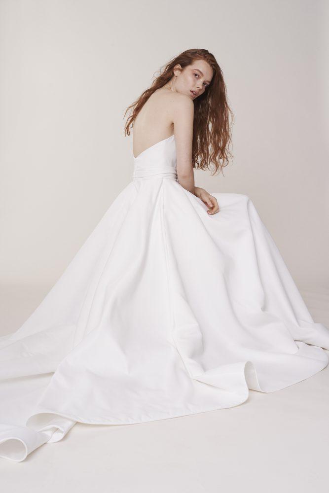 Strapless Sweetheart Ball Gown Wedding Dress by Alyne by Rita Vinieris - Image 2
