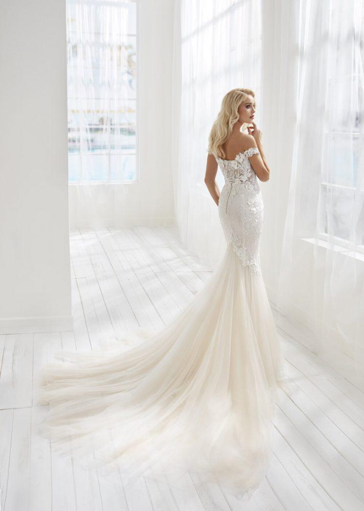 Mermaid Embroidered Wedding Dress by Randy Fenoli - Image 2