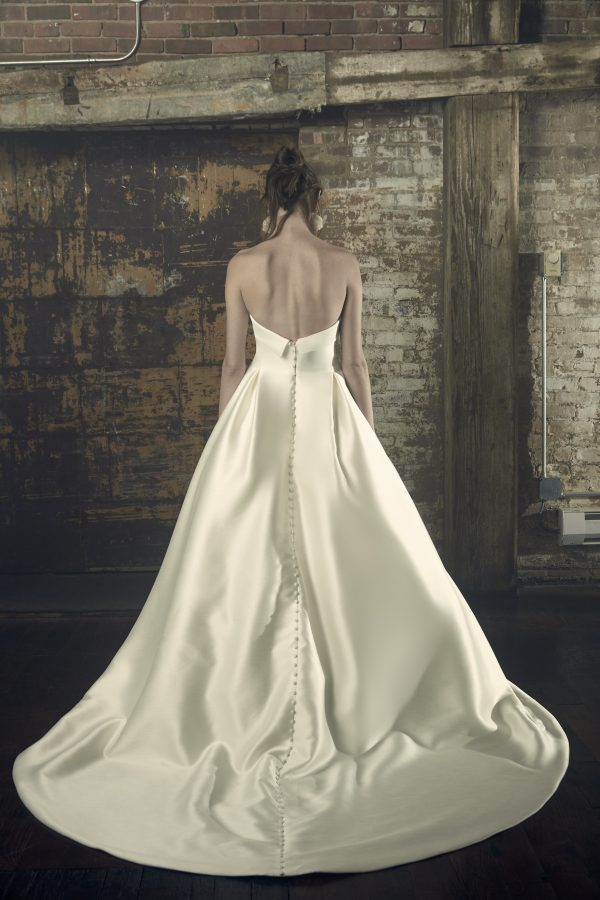 Strapless Ball Gown Wedding Dress by Sareh Nouri - Image 2