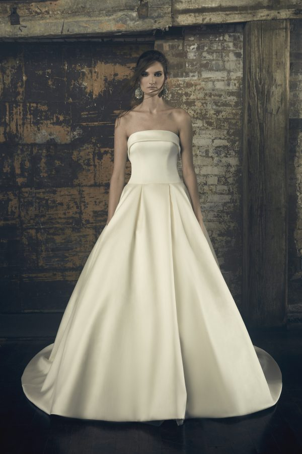 Strapless Ball Gown Wedding Dress by Sareh Nouri - Image 1