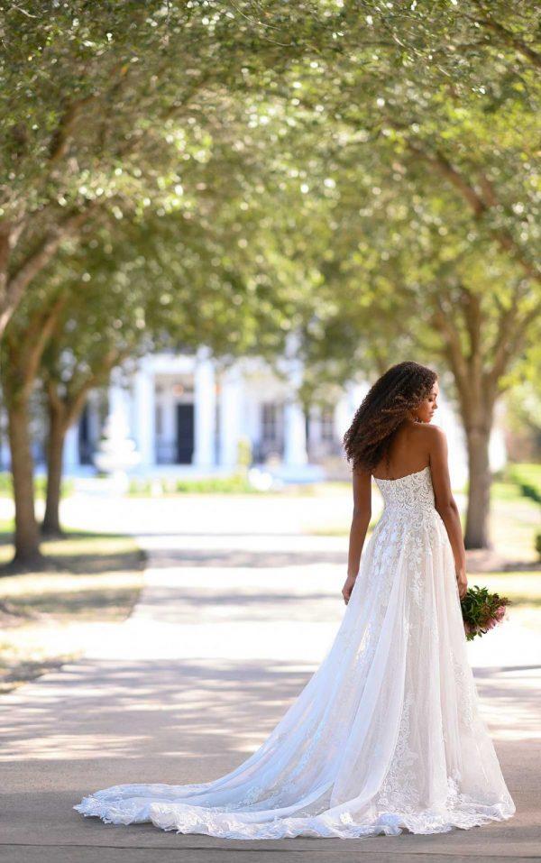 Strapless A-line Wedding Dress by Martina Liana - Image 2