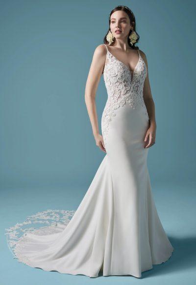 Long Sleeve Mermaid Wedding Dress by Maggie Sottero