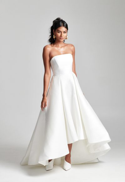 Strapless Hi-low Ball Gown Wedding Dress by Rebecca Schoneveld