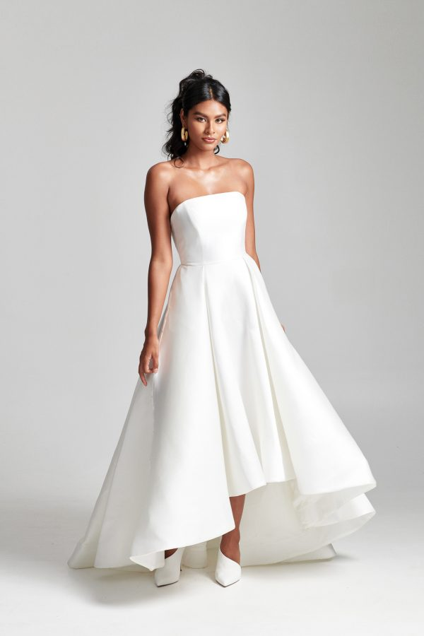 Strapless Hi-low Ball Gown Wedding Dress by Rebecca Schoneveld - Image 1