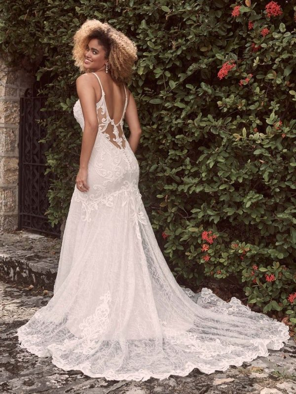 Sexy Low-back Mermaid Wedding Dress In An Ultra-flattering Silhouette by Maggie Sottero - Image 2