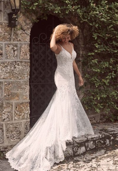 Sexy Low-back Mermaid Wedding Dress In An Ultra-flattering Silhouette by Maggie Sottero