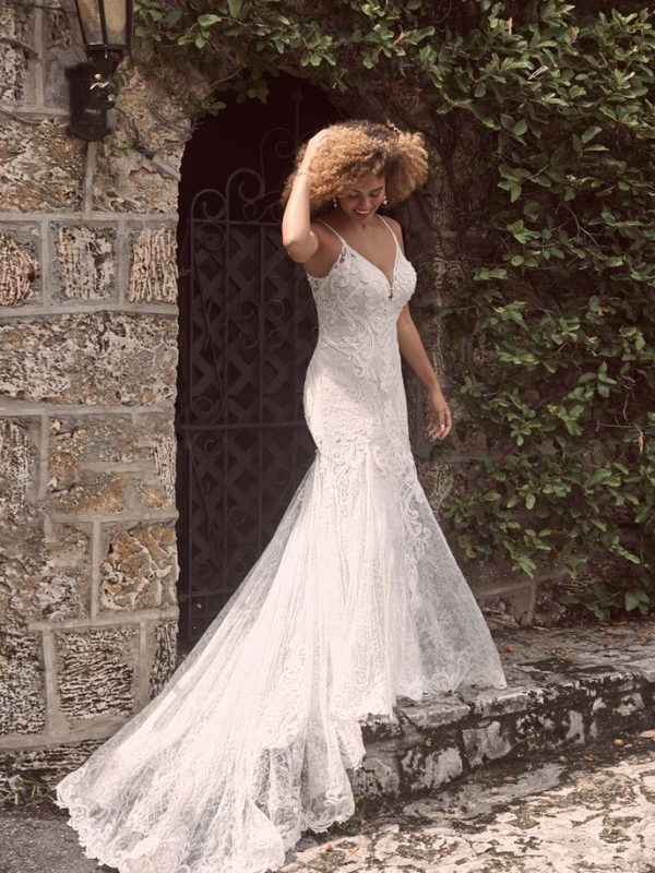 Sexy Low-back Mermaid Wedding Dress In An Ultra-flattering Silhouette by Maggie Sottero - Image 1