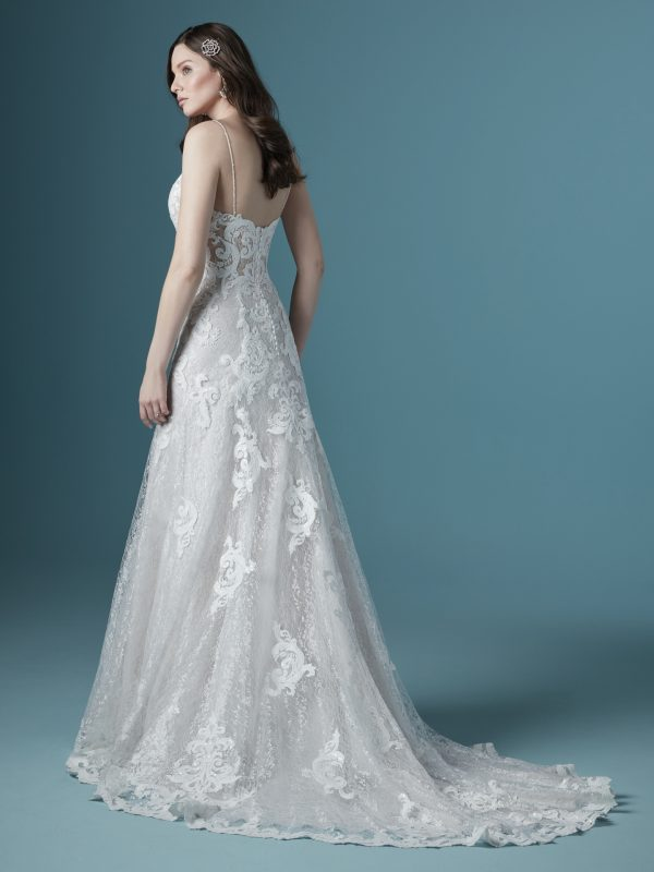 Flattering Lace A-line Wedding Dress To Show Off Your Impeccable Taste by Maggie Sottero - Image 2